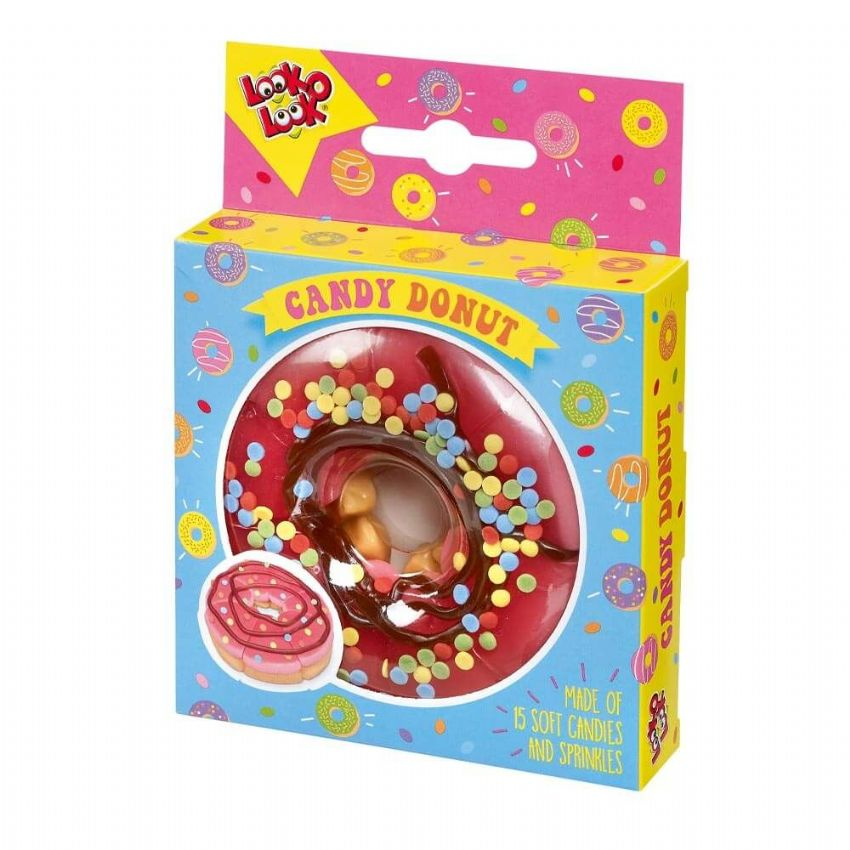 Candy Donut Assorted Jelly Candies Sweets Look O Look 130g